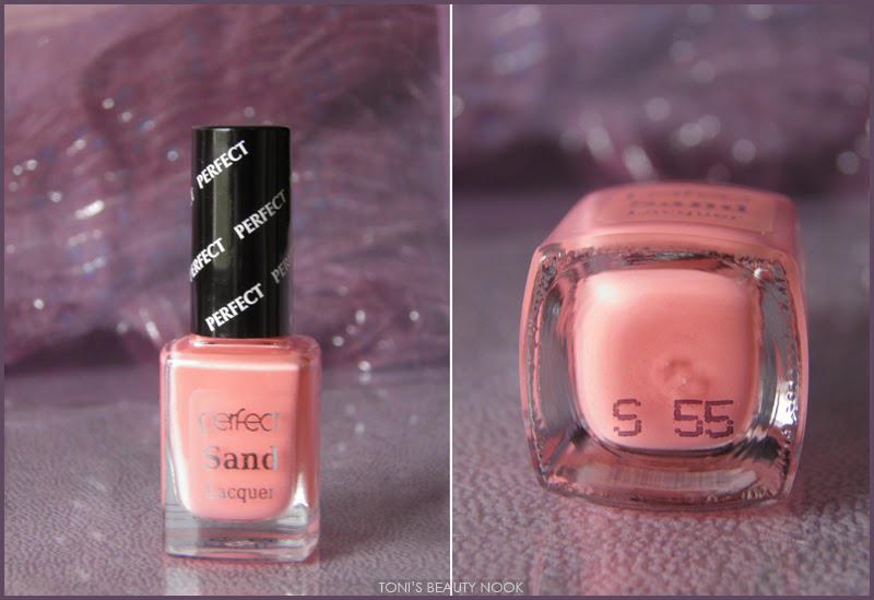 perfect sand nail polish coral S 55