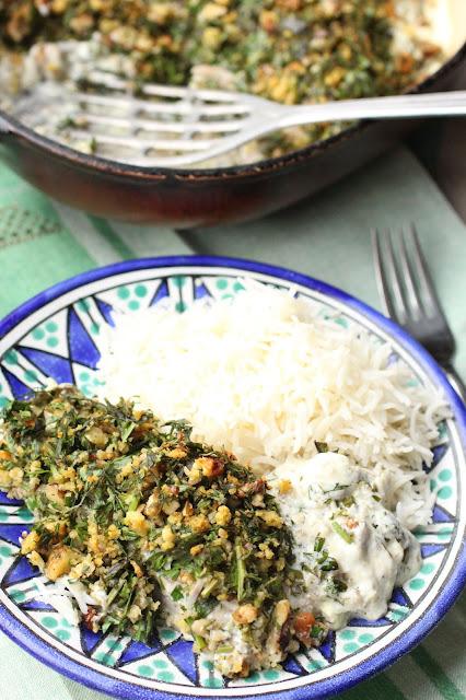 filets de poisson à l'iranienne