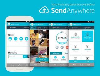 برنامج, سريع, وموثوق, لنقل, ومشاركة, الملفات, بين, الأجهزة, بشكل, آمن, Send ,Anywhere