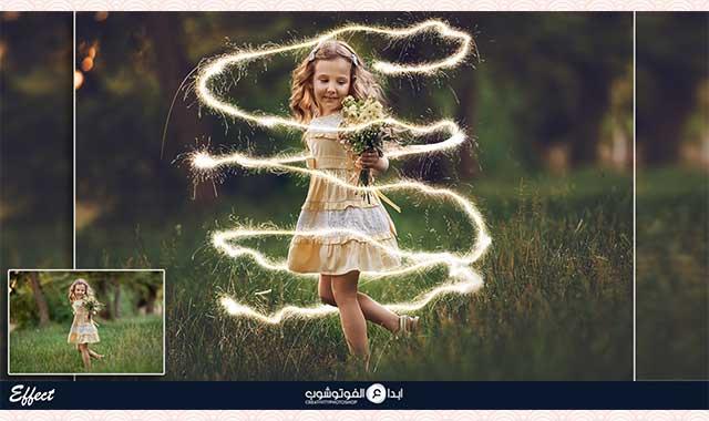Free Sparkler Overlays