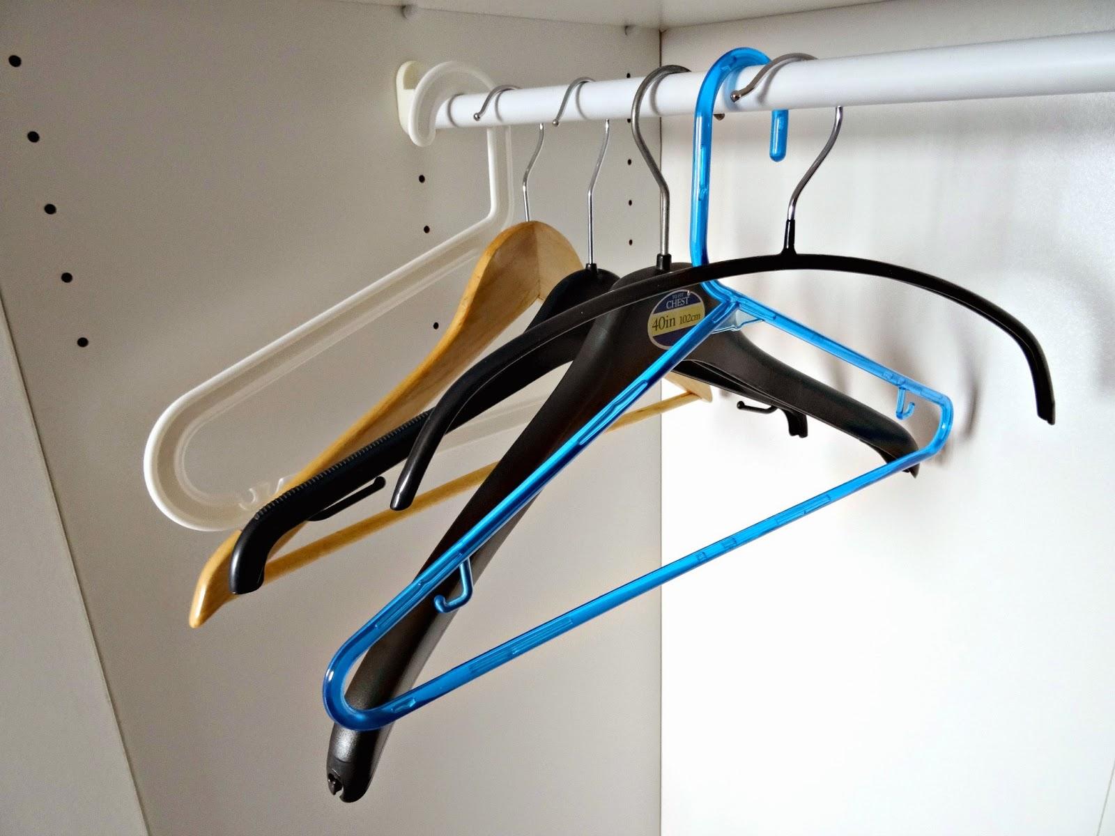 Hangers wardrobe