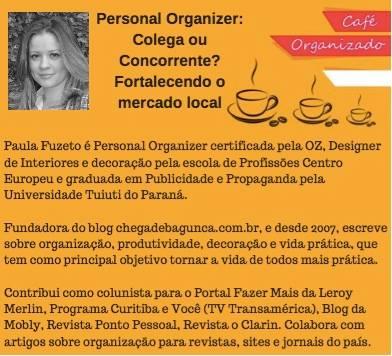 Convite para o Café Organizado de Curitiba