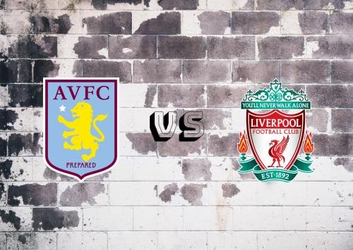 Aston Villa vs Liverpool  Resumen y Partido Completo