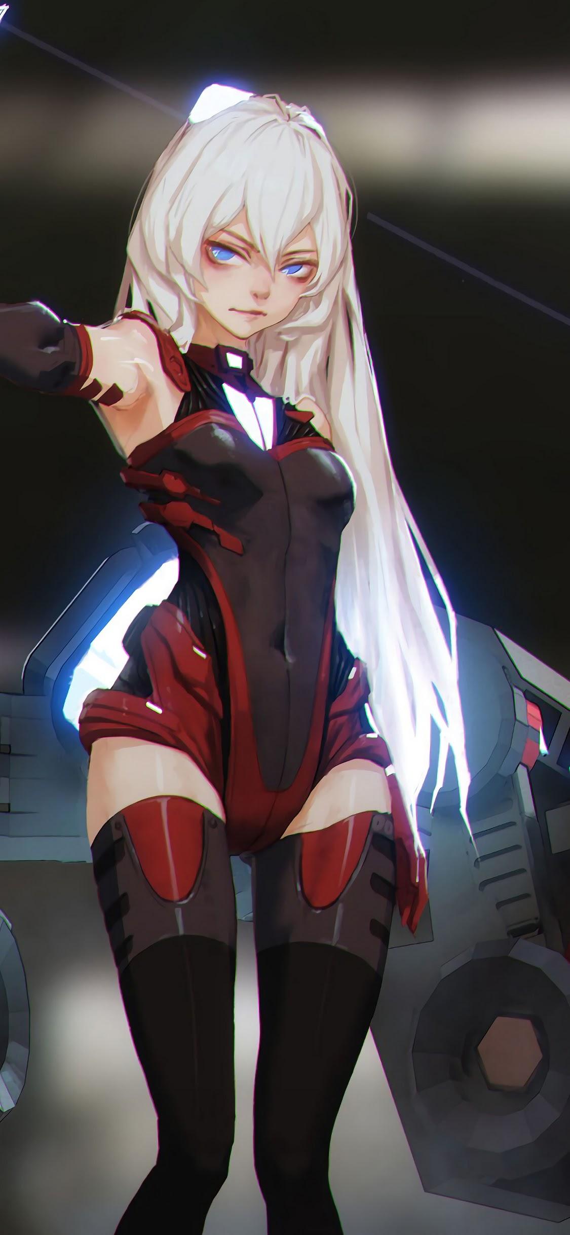 Anime Girl Sci Fi 4k Wallpaper 172