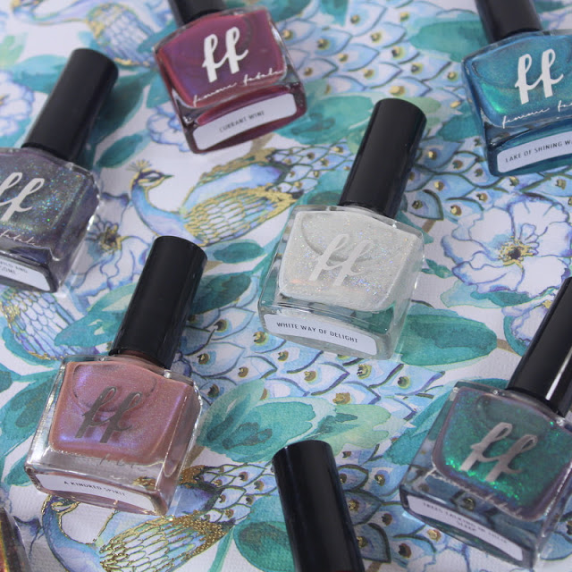 Femme Fatale Anne of Green Gables Nail Polish Collection Swatches & Review
