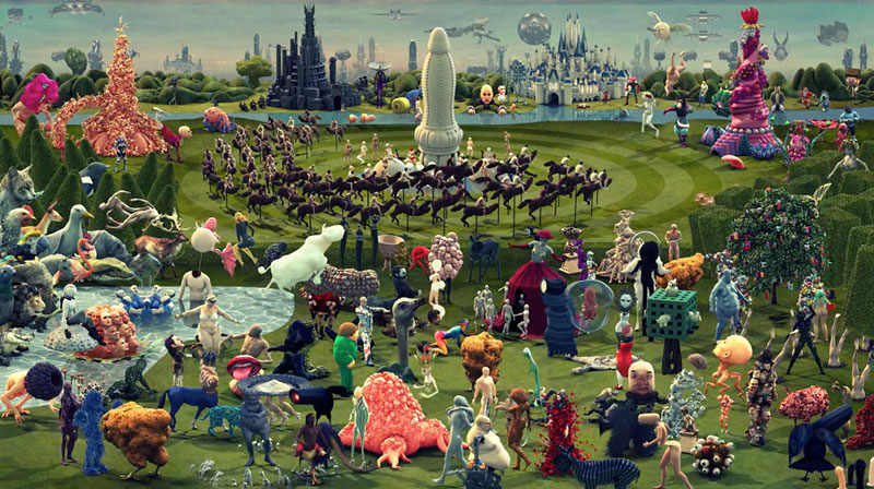 Paradise A Contemporary Interpretation Of The Garden Of Earthly Delights