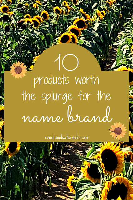 name brand versus store brand; store brand items that suck; store brand items that aren't good; name brand items versus store brand items; generic mucinex