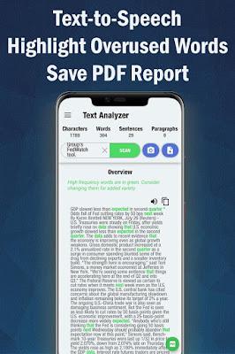تطبيق Text Analyzer Pro كامل للأندرويد, تطبيق Text Analyzer Pro مكرك, تطبيق Text Analyzer Pro عضوية فيب