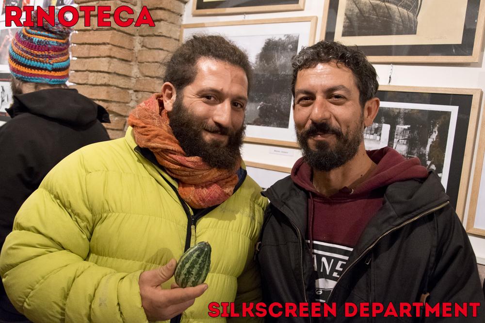 Claudio Rinaldi di Rinoteca e Kuro del Silkscreen Department