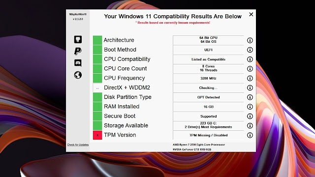 Download Windows 11 PC Compatibility Tool