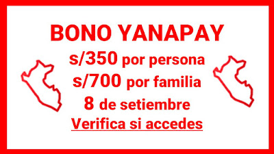 Yanapay Perú: conoce si eres beneficiario y cuando puedes cobrar