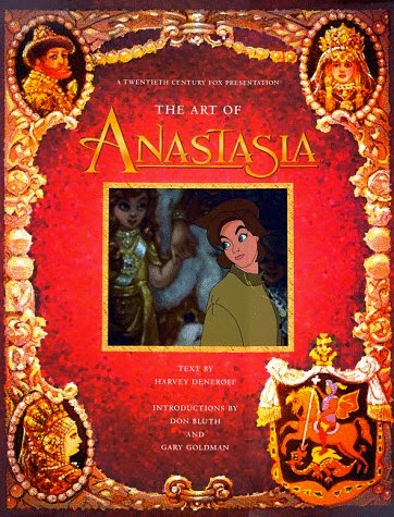 Picture of the Art of Anastasia book