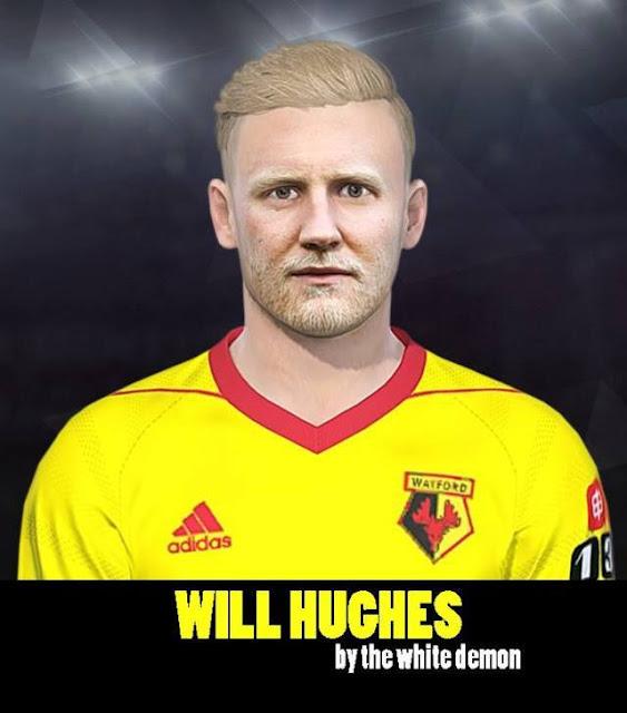 Will Hughes Face PES 2018
