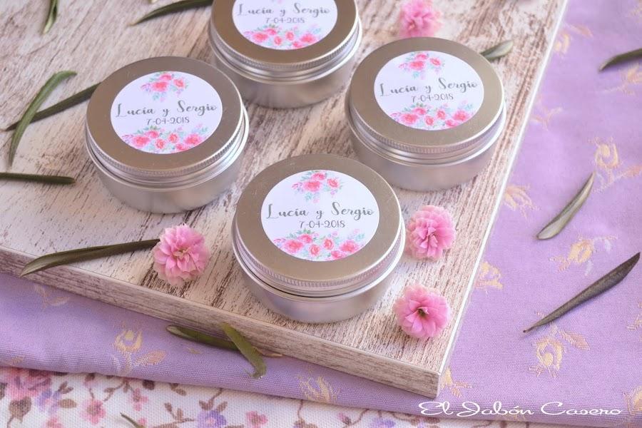 Velas aromaticas naturales para detalles de boda invitados