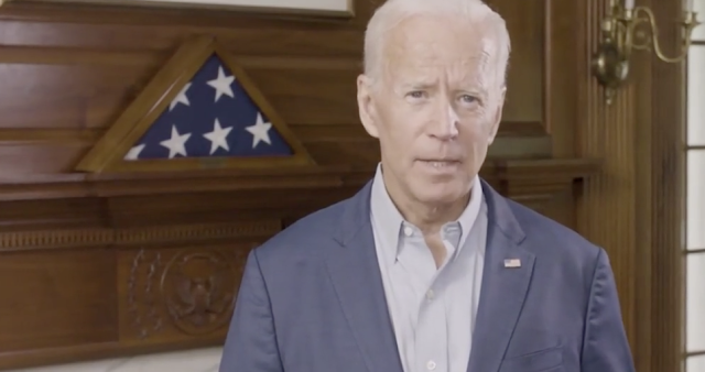 BIDEN SUPPORT SLIPS BELOW 30 PERCENT IN NEW POLL