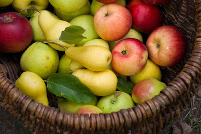 Which is healthier, pear or apple?