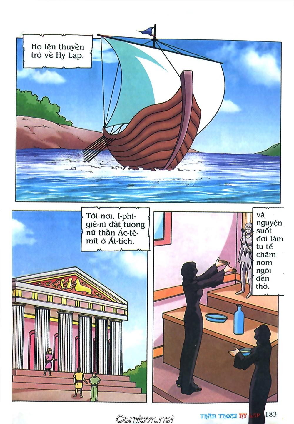 Thần Thoại Hy Lạp Màu - Chapter 71: Nàng Ê lếch tơ 2 - Pic 34