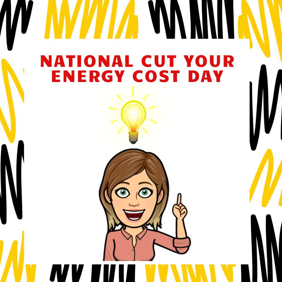 National Cut Your Energy Costs Day Wishes Beautiful Image