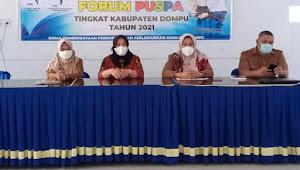 Wakil Ketua TP-PKK Kab. Dompu Menjadi Narasumber Dalam Forum Puspa