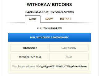 Pago automático freebitcoin