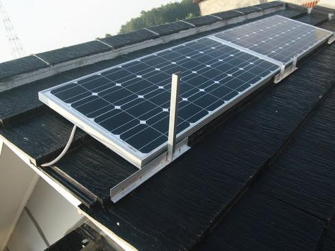 Rumah Hemat Listrik Dengan Lampu Solar Panel Surya