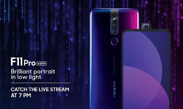 Spesifikasi dan Harga Smartphone OPPO F11 Pro Terbaru