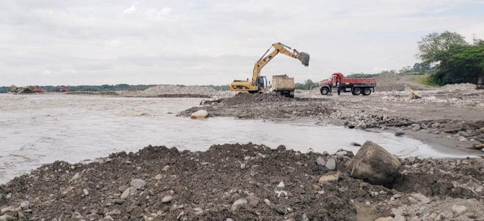 Se establecieron lineamientos para la canalización del río por parte del proyecto minero en el sector conocido como 'entre puentes'