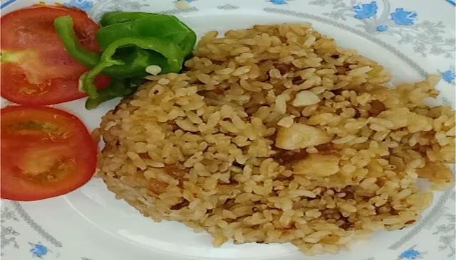 طريقة عمل ارز بسمك الفيلية الاحمر الشيف محمد الدخميسي
