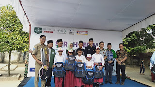 Terimakasih Pelanggan Indomaret, Program NU Peduli Lombok Berhasil Kumpulkan Dana Rp 3 Miliar