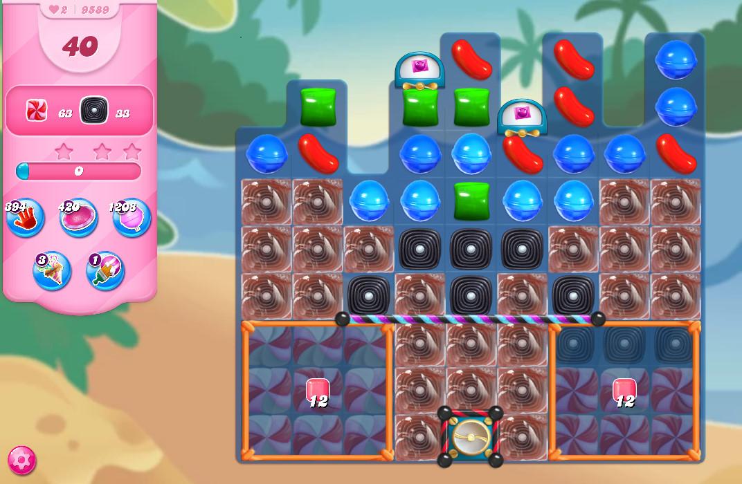 Candy Crush Saga level 9589