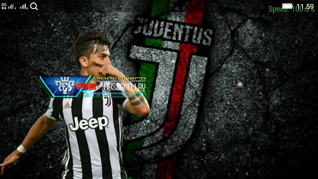 PES 2018 Chilito 19 v3 PSP Special Juventus Apk Mod All Face HD Savedata and Texture