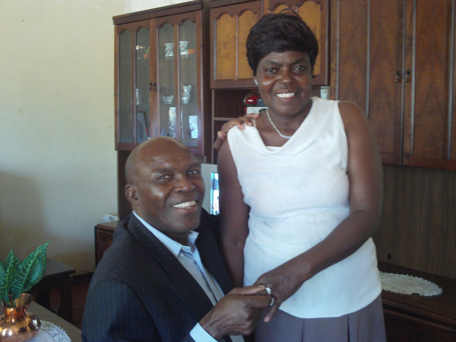 Rev. Silas and Constance Dube