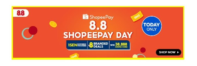 INTRODUCING SHOPEEPAY DAY ON 1 AUGUST !