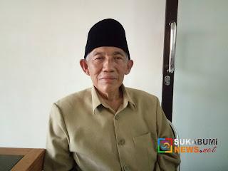 Ketua MUI Kabupaten Sukabumi, KH Oman Komarudin