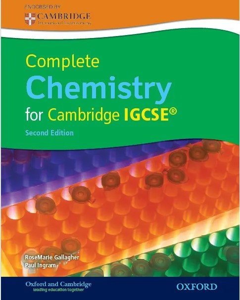Complete Chemistry for Cambridge IGCSE 2nd edition in pdf