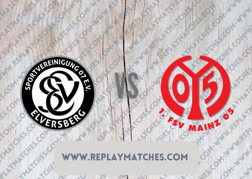 Elversberg vs Mainz -Highlights 08 August 2021