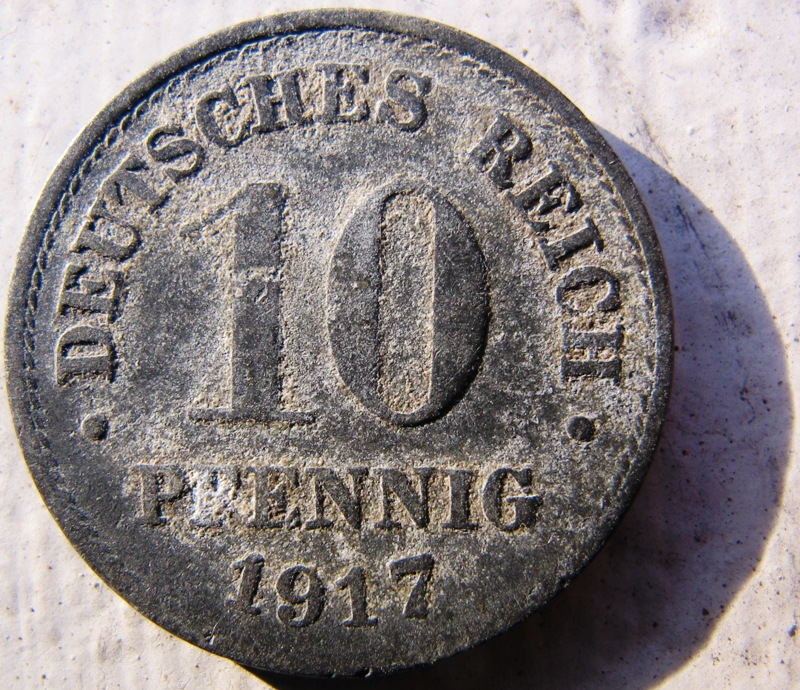pfennig coin value
