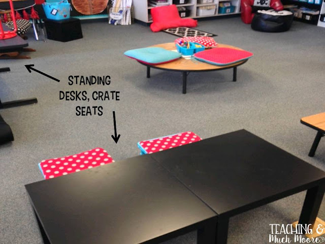 flexible seating ideas on design, ikea and furniture tips as well as management ideas