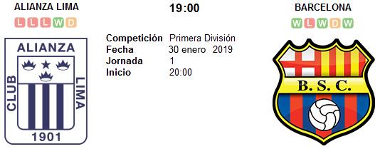 Alianza Lima vs Barcelona SC en VIVO