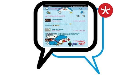 BBM Hello Kitty Doraemon MOD Apk Update