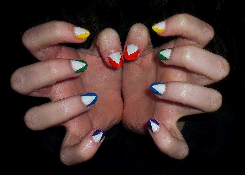 hipster pointy nails - photo #3