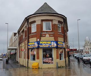 Popeye's take away in Blackpool