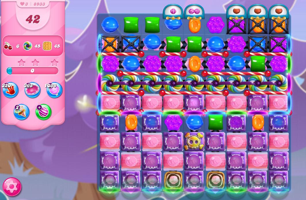 Candy Crush Saga level 8933