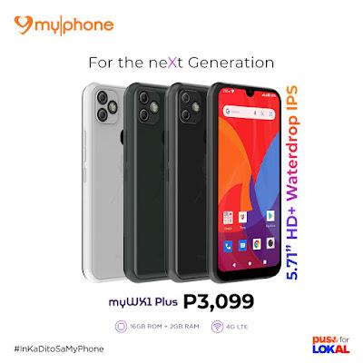 MyPhone myWX1 model