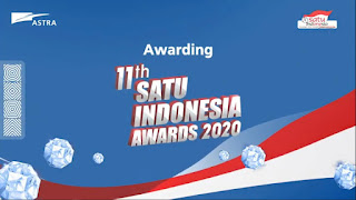 Awarding SATU Indonesia Awards secara Virtual