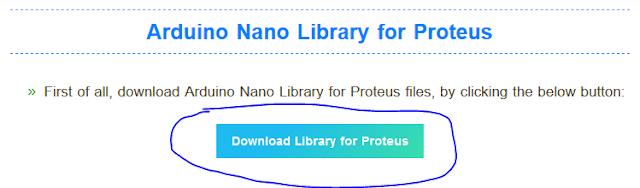 Menginstall Library Arduino Nano di Proteus