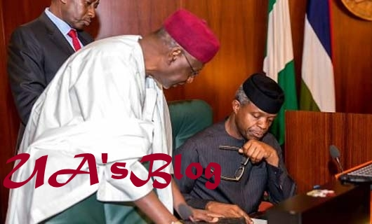 JUST IN: Acting President Yemi Osinbajo Signs Three Bills Into Law
