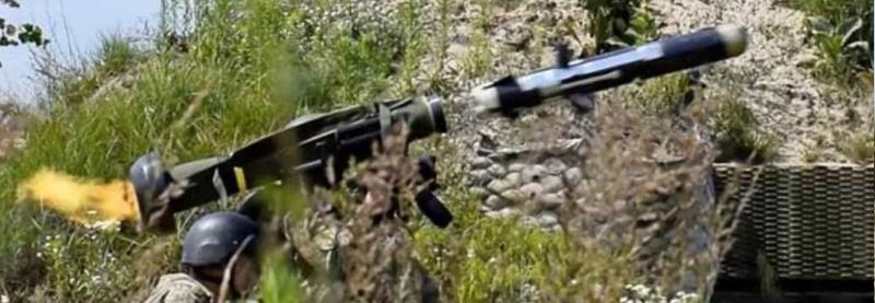 Відео застосування ЗСУ ПТРК FGM-148 Javelin