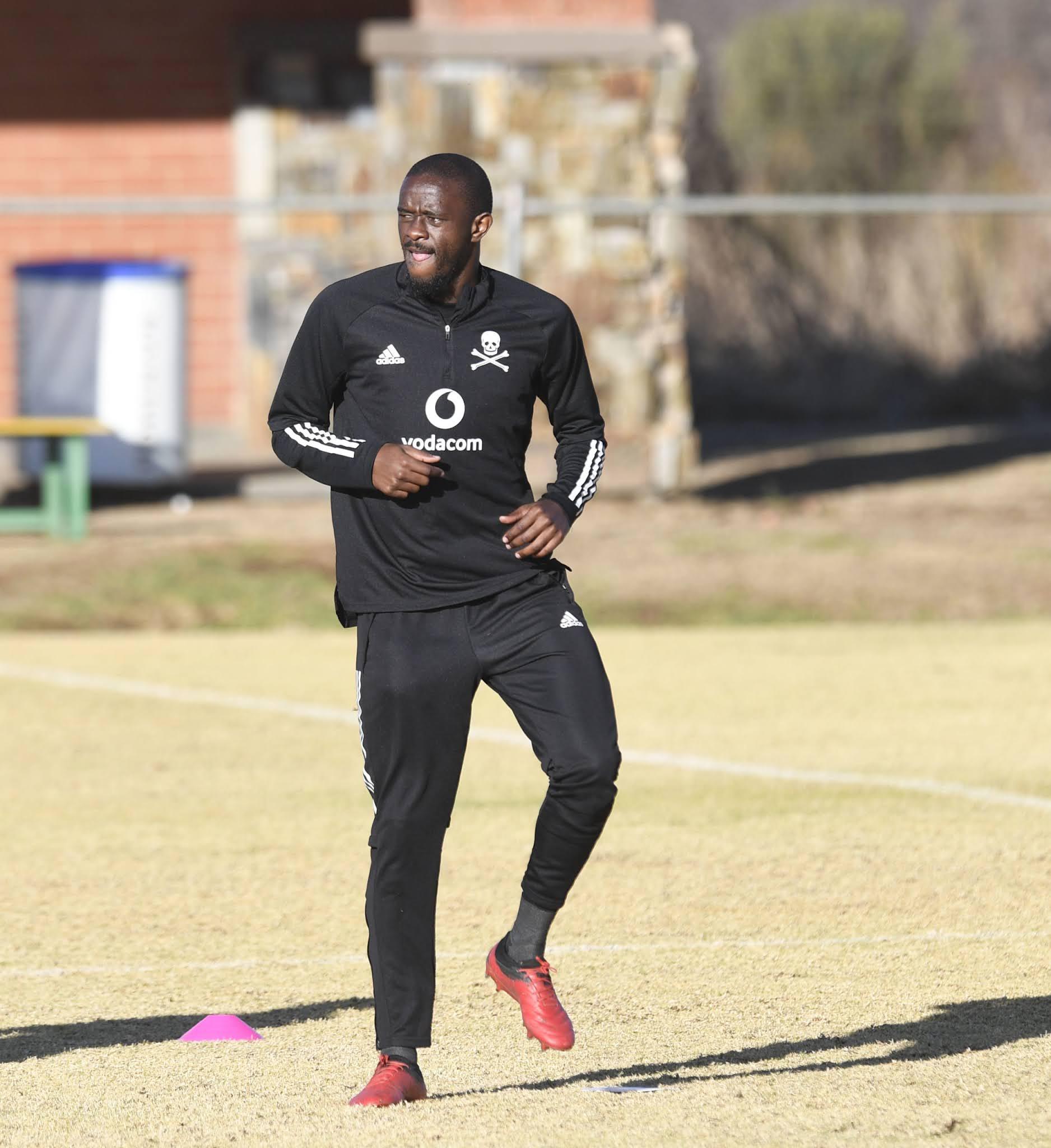 Orlando Pirates defender Kwanda Mngonyama