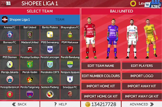 FTS 2020 Mod Full Liga Indonesia 2020 Edition Update Full Transfer 2020 HD